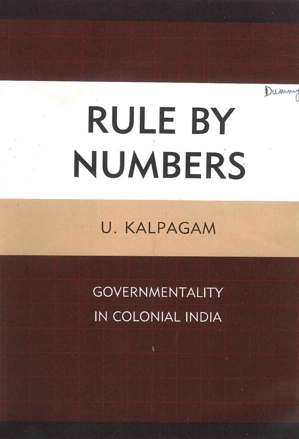Rule By Numbers